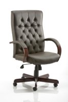 Gentoo Chesterfield Executive Chair with Arms