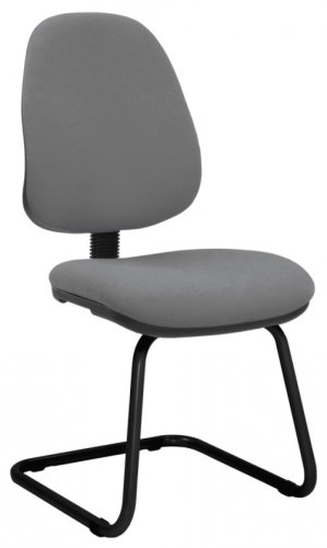 Elite Start Upholstered Cantilever Meeting Chair Without Arms