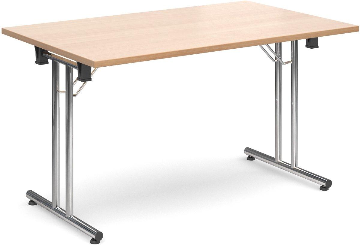 Dams Rectangular Folding Table 1200x800mm Office