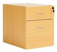 Fraction 2 Drawer Fixed Pedestals