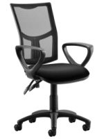 Gentoo Bulk Eclipse Plus 2 Mesh Chair with Loop Arms