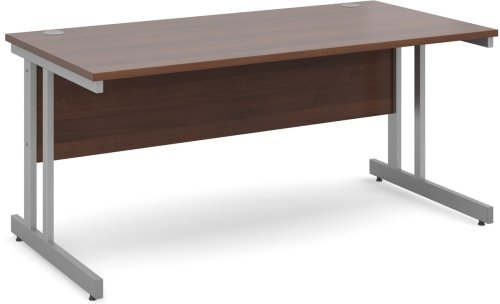Dams Momento Rectangular Desk with Twin Cantilever Legs - (w) 1200mm x (d) 800mm