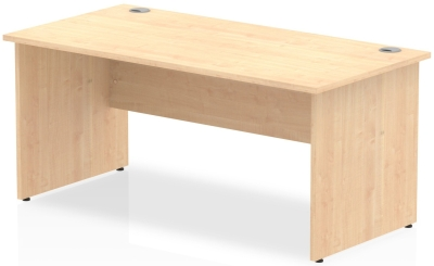 Gentoo Rectangular Desk with Panel End Legs - (w) 1200mm x (d) 800mm