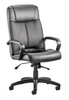 Gentoo Plaza Leather Operator Chair