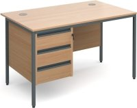 Dams Maestro H Frame - 3 Shallow Drawers
