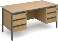 Dams Maestro H Frame - 6 Shallow Drawers