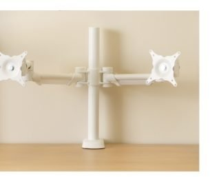 ABL HAFSA Pole Mounted Twin Screen Monitor Arm