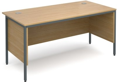 Dams Maestro H-Frame Rectangular Desk with Back & Side Modesty Panels - (w) 1532mm x (d) 746mm