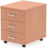 Gentoo Bulk Mobile Pedestal - 3 Shallow Drawers