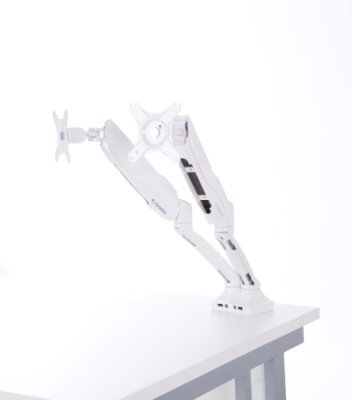 Gentoo Nimble Twin Screen Monitor Arm (Gas Assisted)