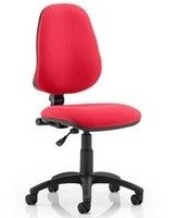 Gentoo Eclipse Plus 1 Lever Operator Bespoke Fabric Chair without Arms