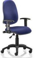 Gentoo Eclipse Plus 1 Lever Operator Bespoke Fabric Chair with Height Adjustable Arms