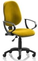 Gentoo Eclipse Plus 1 Lever Operator Bespoke Fabric Chair with Loop Arms