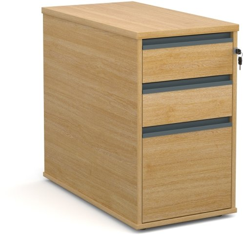 Dams Desk High Pedestal 3 Drawers - (w) 426mm x (d) 800mm