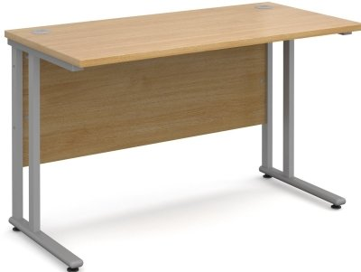 Dams Bulk Rectangular Desk with Twin Cantilever Leg - (w) 1000 x (d) 800mm