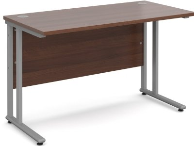 Dams Bulk Rectangular Desk with Twin Cantilever Leg - (w) 800 x (d) 800mm