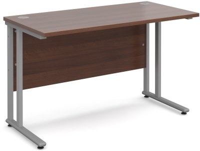 Dams Bulk Rectangular Desk with Twin Cantilever Leg - (w) 1200 x (d) 800mm
