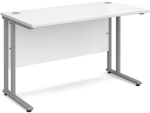 Dams Bulk Rectangular Desk with Twin Cantilever Leg - (w) 1600 x (d) 800mm