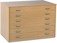 Monarch 6 Drawer Plan Chest
