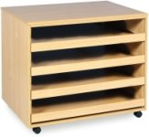 Art Storage 4 Sliding Drawer A1 Paper Storage Unit