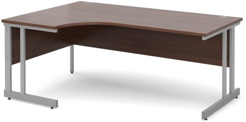Dams Bulk Corner Desk with Twin Cantilever Legs - (w) 1800mm x (d) 1200mm