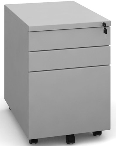 Dams Bulk 3 Drawer Mobile Steel Pedestal