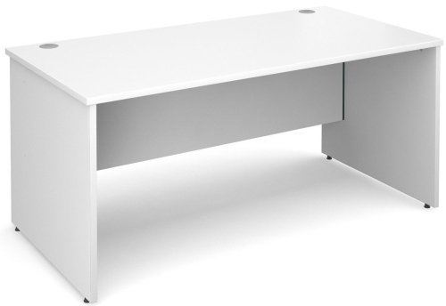 Dams Maestro Rectangular Desk with Panel End Leg - (w) 800mm x (d) 800mm