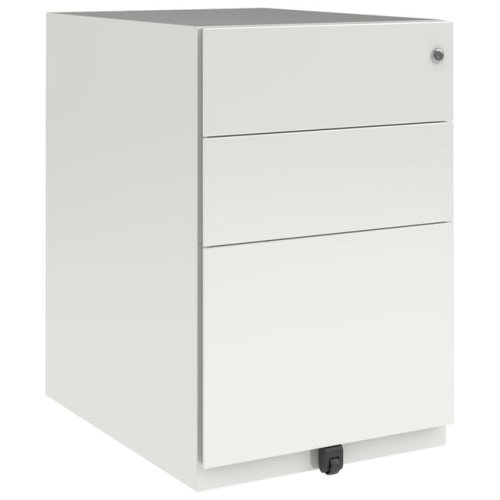 Bisley 3 Drawer Steel Mobile Pedestal