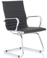 Gentoo Nola Leather Cantilever Chair