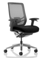 Gentoo Ergo Click Fabric Seat Mesh Back without Headrest