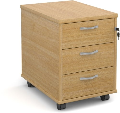 Dams Executive Mobile Pedestal 3 Drawer - (w) 426mm x (d) 600mm