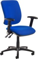 Dams Senza Operator Chair with Folding Arms