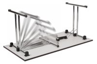 Teknik Space Folding Table - (w) 1600mm x (d) 800mm