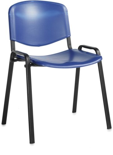 Dams Taurus Plastic Stacking Chair with No Arms (Price Per Box of 4)