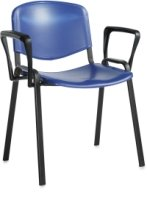 Dams Taurus Plastic Stacking Chair with Arms (Price Per Box of 4)