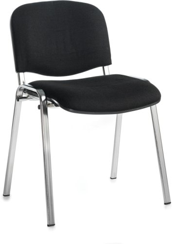 Dams Bulk Taurus Chrome Frame Stacking Chairs Without Arms