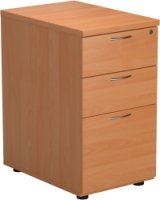 TC Bulk Desk High Pedestal 3 Drawers 600mm Deep