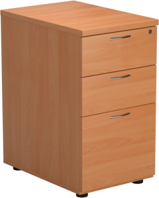 Desk High Pedestal 3 Drawers