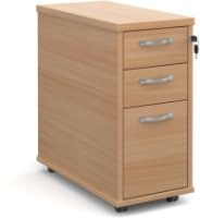Dams Bulk Slim Pedestal - 3 Drawer