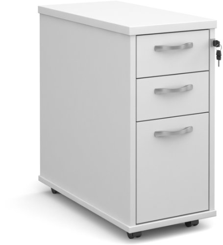 Dams Executive Slim Line Pedestal 3 Drawer - (w) 300mm x (d) 600mm