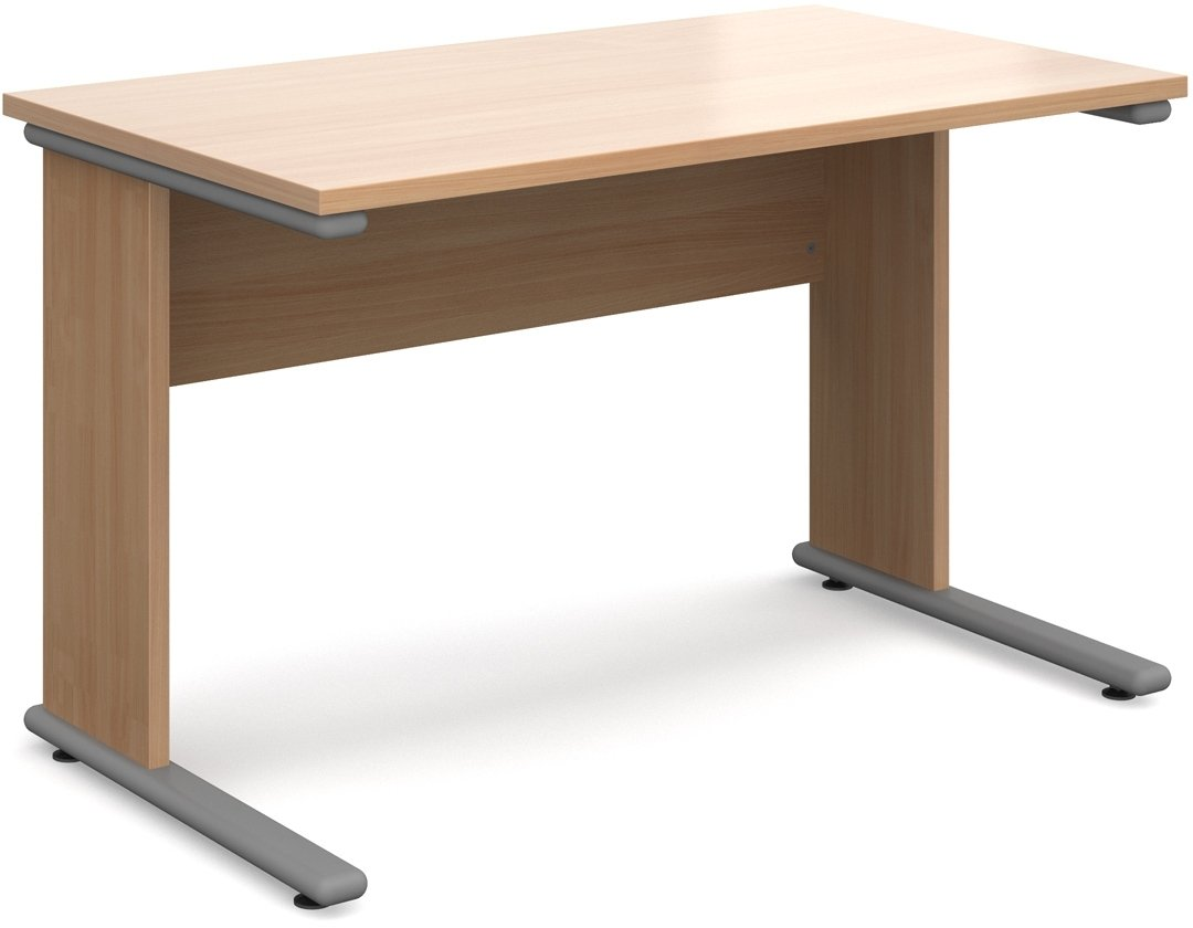 Urban straight desk 1180mm for Direct furniture