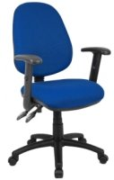 Dams Vantage 100 Operator Chair with Adjustable Arms