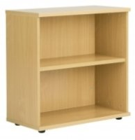 Fraction 800mm High Bookcase