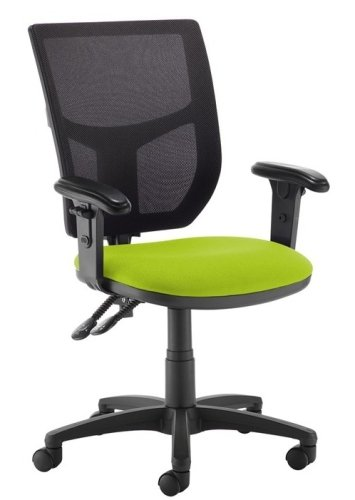 Dams Jota Mesh Back Adjustable Arms Operator Chair
