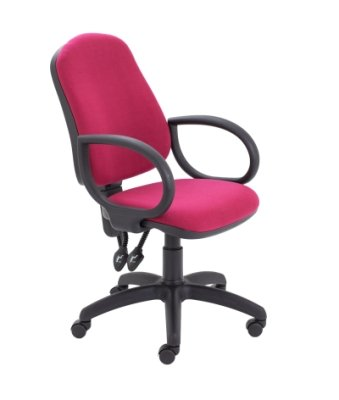 Calypso 2 High Back Chair With Fixed Arms
