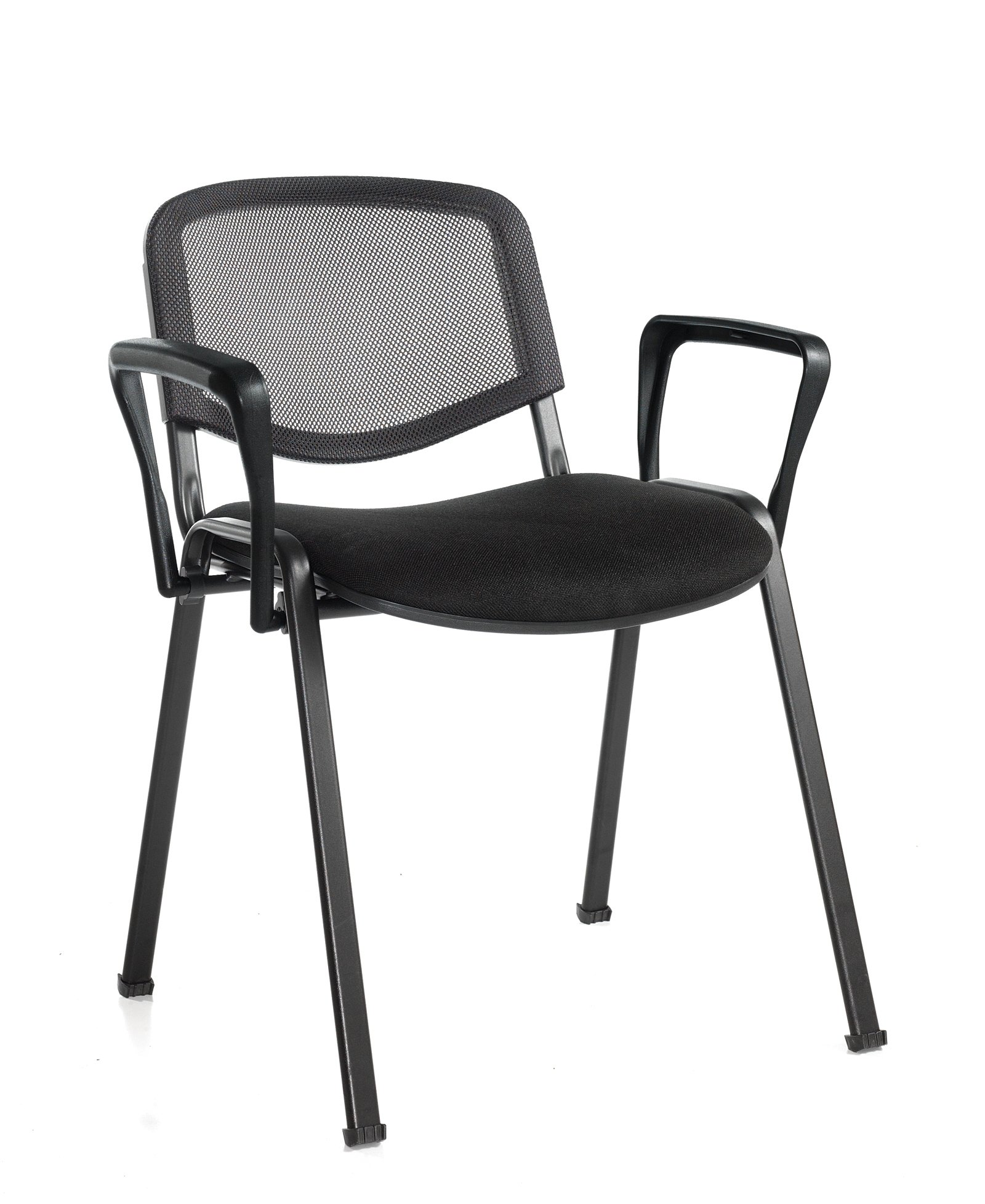 Taurus Mesh Stacking Chair With Arms Price Per Box Of 4