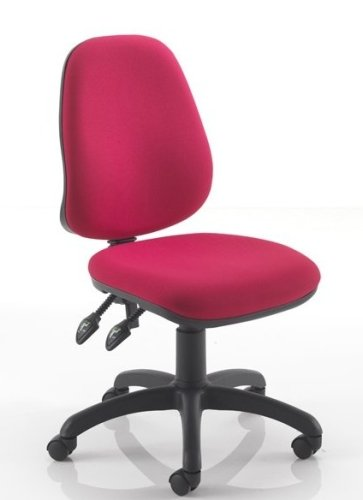 TC Office Calypso 2 High Back Operator Chair Without Arms - Chrome Base