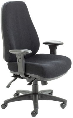 TC Office Essentials Task 24 Hour 24 Stone High Back Task Chair