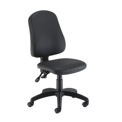 Calypso High Back PU Chair Without Arms