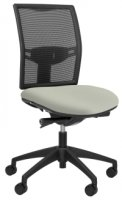 Elite Loreto Black Mesh Task Chair Without Arms